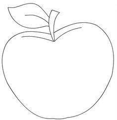 Applique Templates, Applique Patterns, Applique Quilts, Applique Designs, Fruit Coloring Pages, Colouring Pages, Felt Patterns, Craft Patterns, Art Drawings For Kids