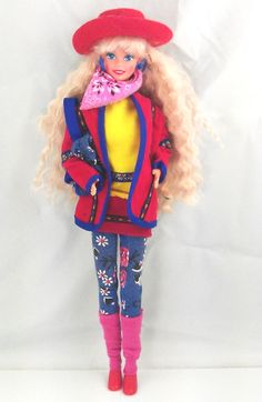 Vintage United Colors of Benetton Barbie, Mattel 1990 by SwankyDame, $13.00