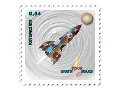 Space Stamp by David Damour