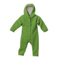 Walk-Overall Wolle grün, Disana