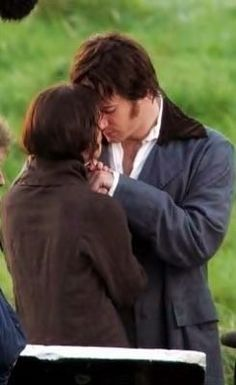 No words. Jane Austen's Pride and Prejudice 2005 version starring Keira Knightley and Matthew MacFadyen