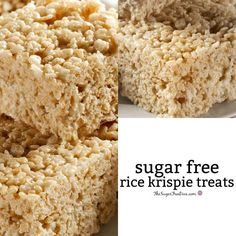 This recipe is How to Make This is How to Make Sugar Free Rice Krispie Treats at home using this easy and yummy to eat recipe.