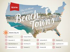 Thinking of buying rental property in a beach town? Check out the 15 most affordable Beach Towns. What are some beach towns where you find yourself investing in?