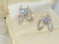 #ear climbers,ear wraps# ear crawlers,Ear studs,#Ear jackets,front back earrings#Silver jewellery