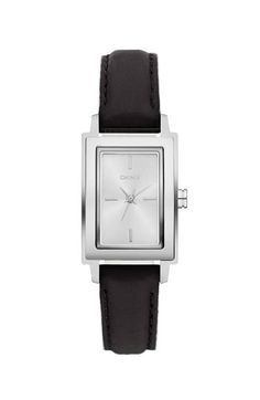 been dying for a simple, rectangle, leather watch for a long time. this one would be perfect.