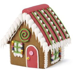 It's more fun to decorate six houses than one, so get the group together and begin.  Our mini party house kit includes six gingerbread houses, colorful candy and icing for you to create the party houses you'll adore. It's a great activity to decorate with the kids in the days leading up to Christmas.