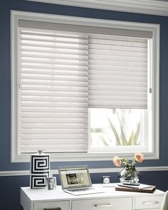 "2 1/2"" Horizontal Sheer Shadings - light filtering, UV protection - Smith+Noble"
