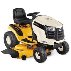 Cub Cadet Riding Mower, I don't care which one, just something I can mow my yard with without having to hire it out every 2 weeks. With my health conditions, I am unable to use my push mower. Landscaping Equipment, Lawn Equipment, Outdoor Power Equipment, Garden Equipment, Best Riding Lawn Mower, Riding Mower, Lawn Mower Tractor, Lawn Tractors, Cub Cadet