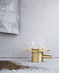 Objects - Tealight I Jaime Hayon has interpreted the classical chamber candleholder, which dates back to the late 1700s. Keep the glass on – or enjoy it without. It's entirely up to you.