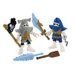 A diversão está garantida com a Imaginext - Esqueletos Marinheiros - Fisher Price. São brinquedos que vão criar uma verdadeira ilha dos Piratas para a garotadinha que esta sempre ávida por novidades e esperando novos brinquedos e novas aventuras.  São itens para que seu filho colecione e crie sua ilha e suas brincadeiras de forma lúdica e bem divertidas. O item vem com 2 figuras, acessórios que farão a diversão de todos. Perfeito para brincar sozinho ou com os amiguinhos.