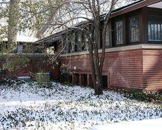 Cheney House, Oak Park - Frank Lloyd Wright