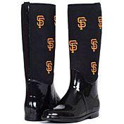 San Francisco Giants Enthusiast Rain Boot by Cuce Shoes  - MLB.com Shop