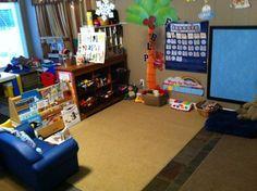 Home Child Care Calendar Wall