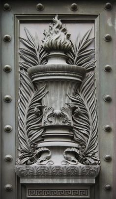 ⌖ Architectural Adornments ⌖ ornate building details - wall relief