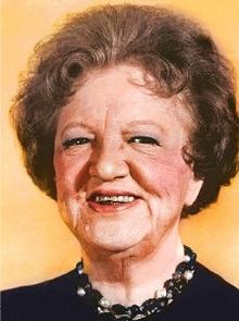 """Marion Lorne -- (1883-1968). Broadway and Television Actress. She played Aunt Clara on the TV Series """"Bewitched"""". She died of a Heart Attack."""