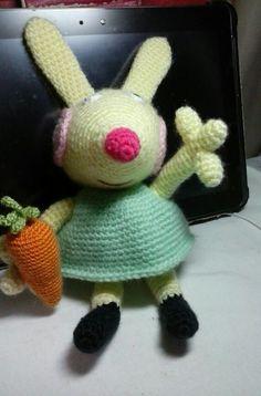 Rebecca - Peppa Pig's friend ♡