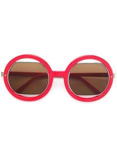 Compre Chloé Eyewear Óculos de sol sol geométrico.   gafas en 2019 ... 4e1b6ff3b6