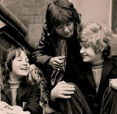 """Tracy Hyde, Jack Wild, and Mark Lester, """"Melody"""" 1971."""