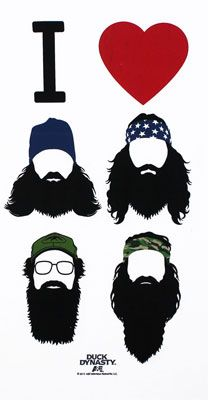 I Heart Beards - Duck Dynasty