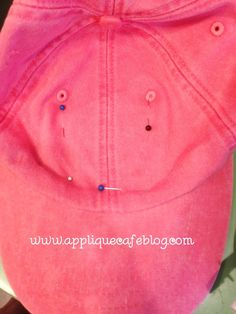 How to monogram a hat or an umbrella