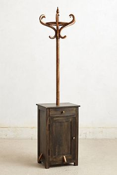 This is a new item for over 700.00.  I could make one using an old cabinet along with the hall tree I already have.  It would be sturdy and twice as useful.