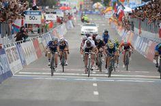 #Ponferrada2014 Women's #EliteRoadRace: #Ponferrada - #Ponferrada 127.4km photos - Pauline Ferrand-Prevot (France) wins the sprint for gold