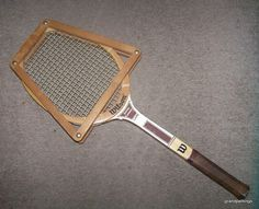 VINTAGE SCARCE WILSON JIMMY CONNORS CAPRI WOOD TENNIS RACQUET Edit item   Reserve item  $125.00 DISCOUNTS