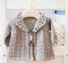 Crocheting: Crochet Baby (Toddler) Jacket