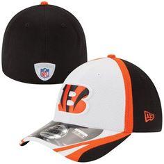 Youth New Era Black Cincinnati Bengals Training 39THIRTY Flex Hat