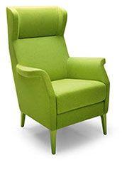 Le style 50s et les formes généreusement accueillantes de ce fauteuil bergère Glam le rendent unique.  Moelleux, il est idéal pour les grands moments de relaxation. Meuble robuste structuré en bois recouvert d'une mousse polyuréthane indéformable et fibre polyester pour un rembourrage très agréable et généreux.  Accoudoirs ergonomiques.