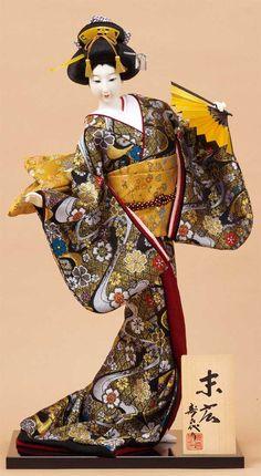 Japanese doll by Kougetsu