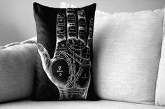 Amanda Treder: Palmistry Pillow Cover