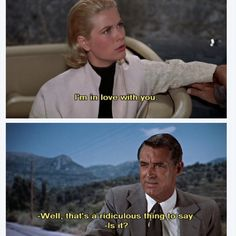 What are a few stolen jewels to people in love? Grace Kelly and Cary Grant in Alfred Hitchcock's To Catch A Thief. http://relationshipadvisorblog.blogspot.com/