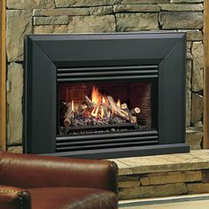 Vented Natural Gas Fireplace - Fireplace screens are several of the beautiful and best fireplace accessories available and Indoor Gas Fireplace, Fireplace Vent, Natural Gas Fireplace, Best Electric Fireplace, Fireplace Design, Prefab Fireplace, Electric Fireplaces, Fireplace Screens, Vented Gas Fireplace Insert