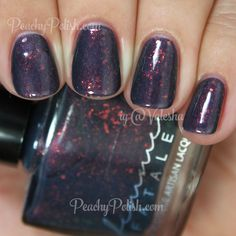 Femme Fatale Cosmetics Lantern Waste | Which Witch Collection | Peachy Polish - probably similar to one of my Hares but still a beauty #blue