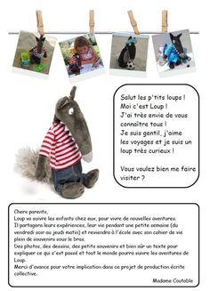 Le cahier de vie de Petit Loup