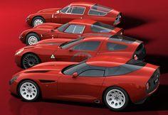 Alfa Romeo Zagato TZ1,2,3