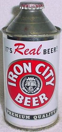 Iron City Beer Can