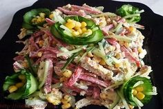 Delicious and simple salad