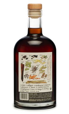 Packaging of the World: Creative Package Design Archive and Gallery: Root Organic Spirits