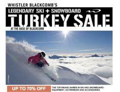 Cityinsighter - Turkey Sale and Whistler Mountain Ski & Board Swap - oct 11, 12, 13, 2013