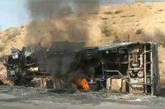 35 Killed When Oil Truck Hits Buses in #Pakistan