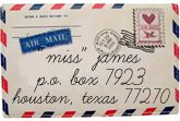 i still want to send letters wherever i go, no matter how hard it is.