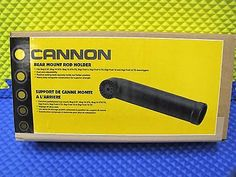 Cannon Black Rear Mount Rod Holder For Downriggers Product Code 1907070