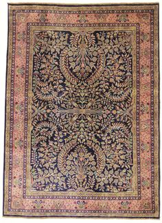 Traditionell Orientalisch Sarug  Teppich  Carpet 227 x 174 cm orient tæppe