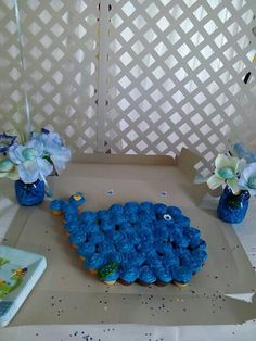 Baby whale. Cupcakes