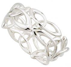 Ladies Trinity Knot ring #Celtic #Irish #Ring #Gift