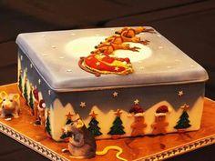 Biscuit tin cake!