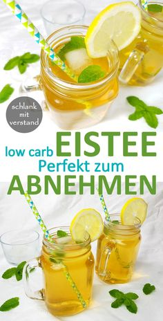 Make low carb iced tea Eistee low carb selber machen Make iced tea yourself low carb recipe Perfect for losing weight as part of a healthy low carb lchf keto diet. In my recipe overview you will find more than 250 delicious low carb recipes. Tea Recipes, Smoothie Recipes, Low Carb Recipes, Healthy Recipes, Smoothies, Cocktail Recipes, Drink Recipes, Low Carb Cocktails, Making Iced Tea