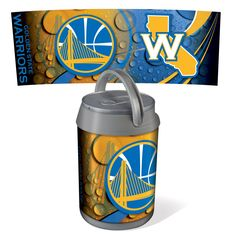 Golden State Warriors Mini Can Cooler by Picnic Time